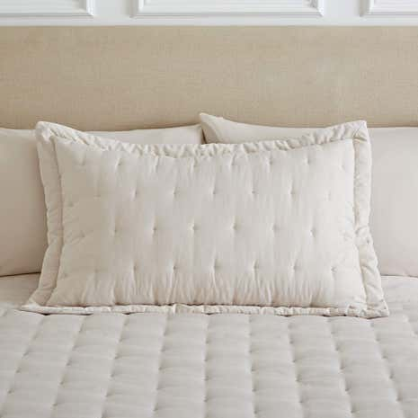 Florence Natural Pillow Sham