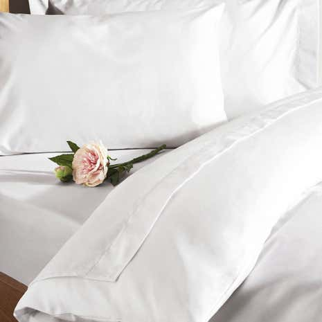 Fogarty Anti Allergy White Duvet Cover