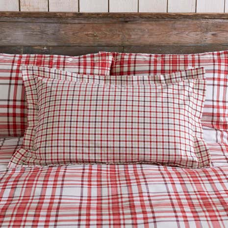 Hartford Red Oxford Pillowcase