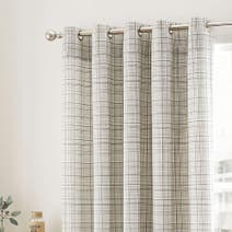 Harvey Charcoal Thermal Eyelet Curtains