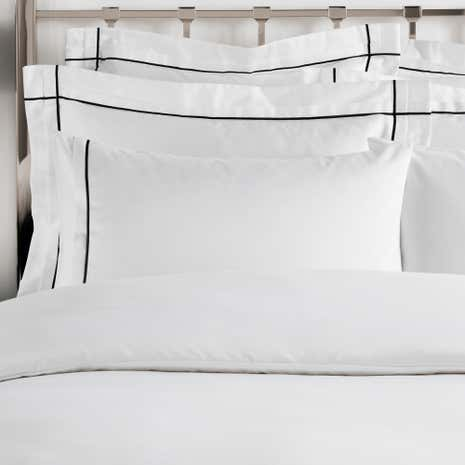 Hotel Portland White Cuffed Pillowcase