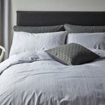 Jasper Grey Duvet Cover Set