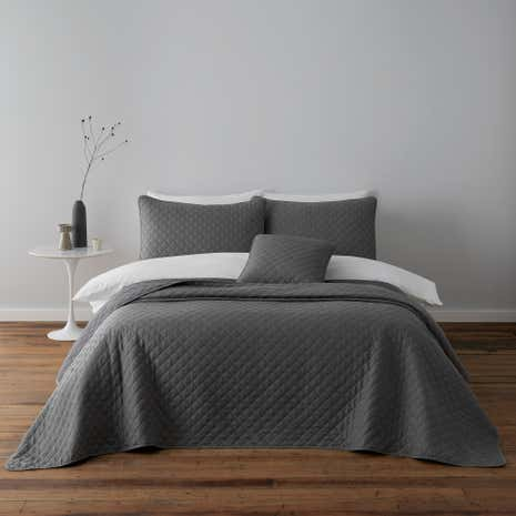Jasper Grey Square Cushion