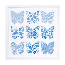 Butterfly Multi Aperture Photo Frame