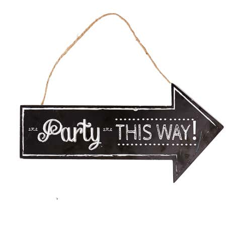 Party This Way Plaque