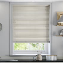Limed White 50mm Faux Wood Venetian Blind