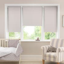 Buddy Ivory Polka Dot Blackout Cordless Roller Blind