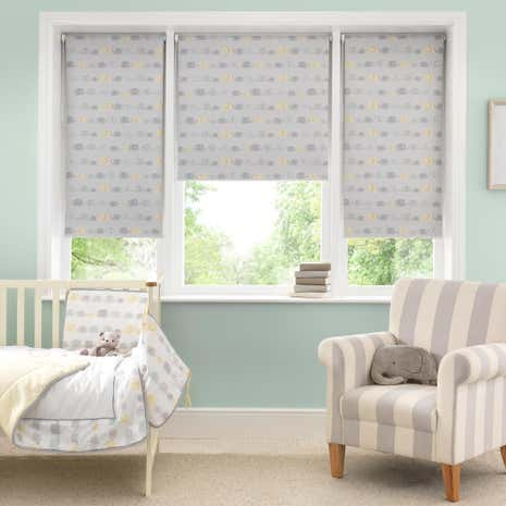 Elephant Blackout Cordless Roller Blind