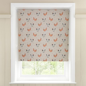 Hens and Dots Blackout Roller Blind