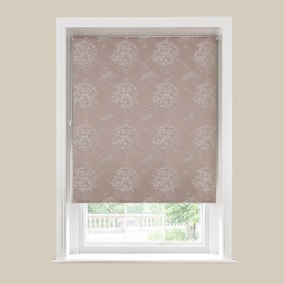 Laura Natural Blackout Roller Blind
