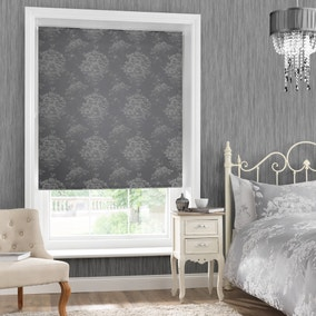 Laura Silver Blackout Roller Blind