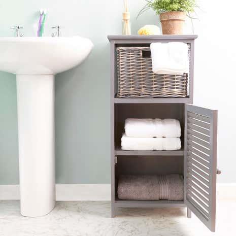 bathroom storage cabinets. Grey Storage Unit Bathroom Cabinets T