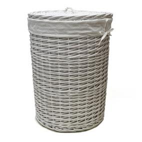 Amazing Oval Wire Storage Basket  Dunelm Bathroom Skincare Storage   28