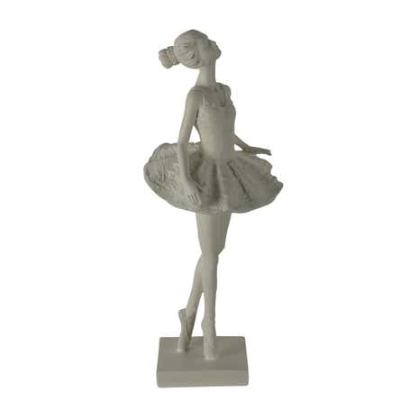 Cream Ballerina Ornament