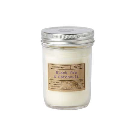 Churchgate Black Tea & Patchouli Fragranced Candle