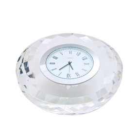 Dorma Cut Glass Clock