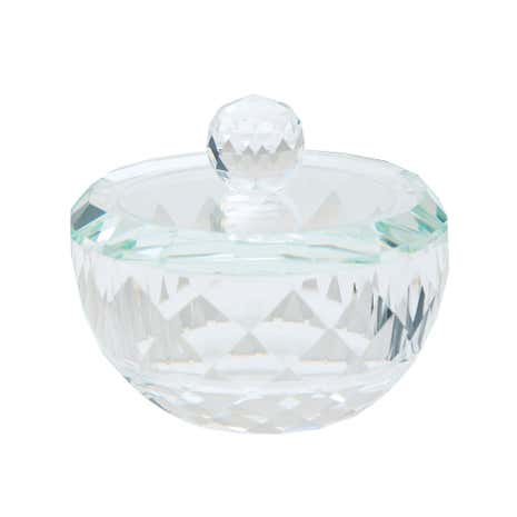 Dorma Cut Glass Trinket Box