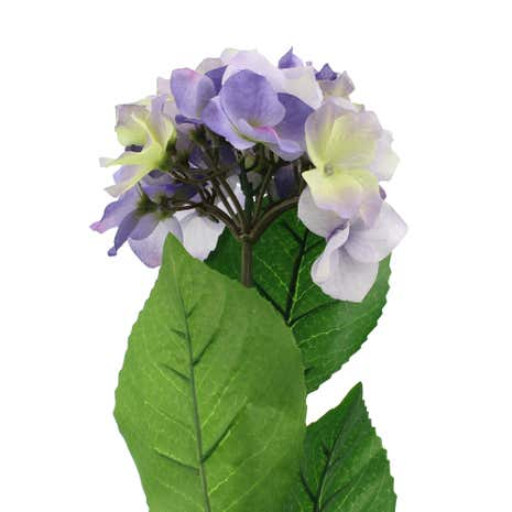 Artificial Purple Hydrangea Stem