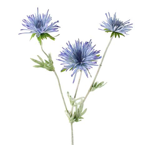 Artificial Blue Spider Mum Stem