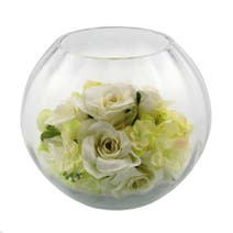 Wedding Goldfish Bowl Arrangement