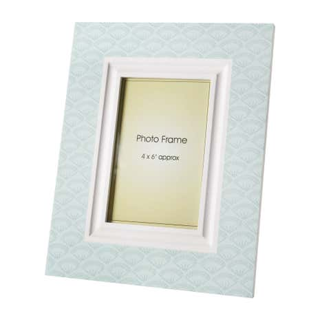 Wooden Ditsy Print Photo Frame