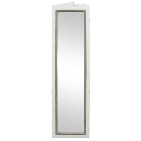 Camille Ivory Cheval Mirror
