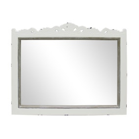 Camille Ivory Wall Mirror