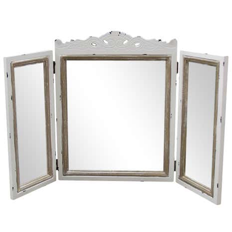 Camille Ivory Dressing Table Mirror