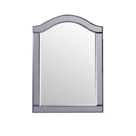 Viola Smoke Wall Mirror
