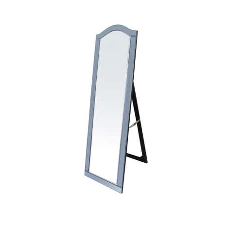 Viola Smoke Cheval Mirror