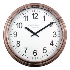 Copper Plated Clock
