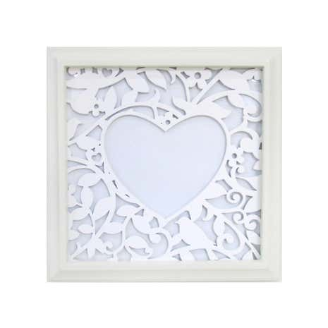 Heart Aperture Laser Cut Photo Frame