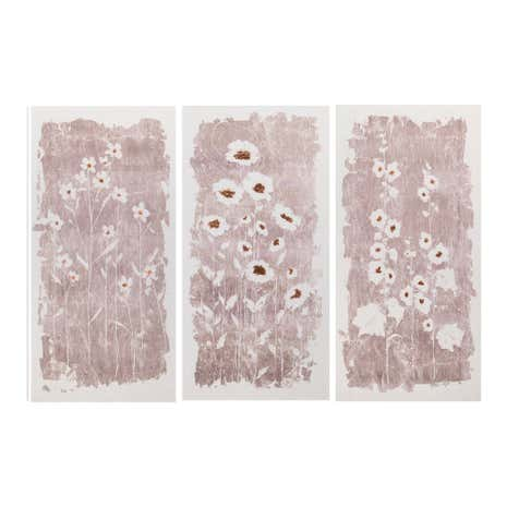 Linen Effect Triptych Canvas