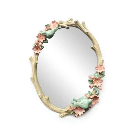 Bird Oval mirror