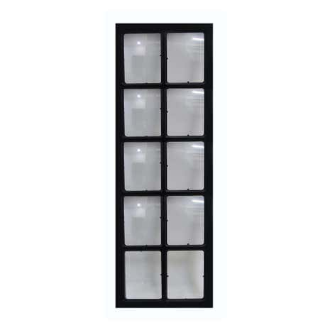 10 Aperture Window Pane Photo Frame