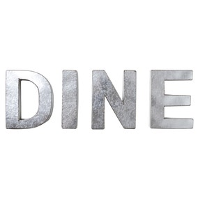 Metal Dine Letters