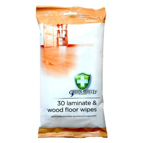 Greenshield Laminate and Wood Floor Wipes