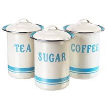 Jamie Oliver Coffee Tea Sugar Tin Set