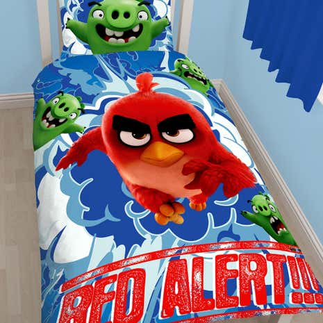 Angry Birds Single Duvet Set
