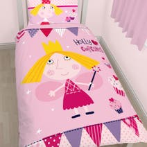 Ben and Holly Single Duvet Set