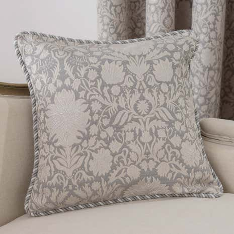 Large Silver Kensington Cushion