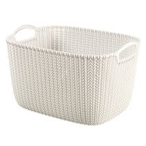 Curver Knit 18 Litre Rectangular Basket