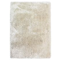 Ivory Jewel Shaggy Rug
