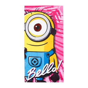 Minions Bello Towel