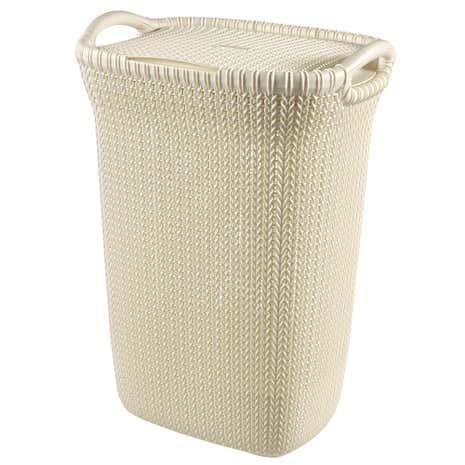 curver knit 60 litre laundry hamper