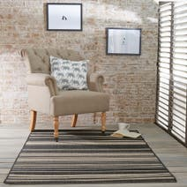 Cottage Stripe Flatweave Rug