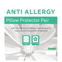 Anti Allergy Pair of Pillow Protectors