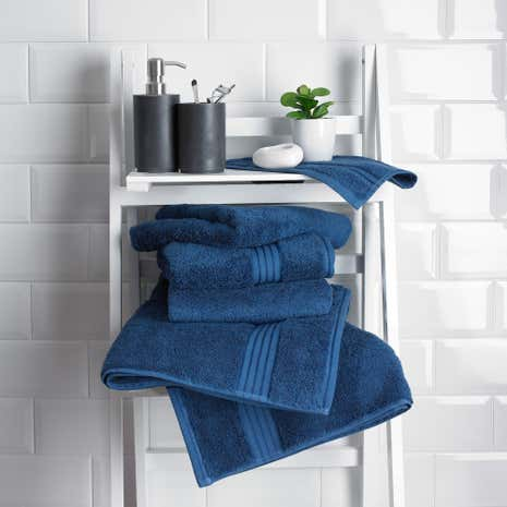 Indigo Egyptian Cotton Towel