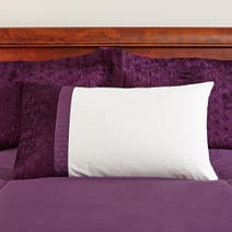 Adalene Plum Housewife Pillowcase