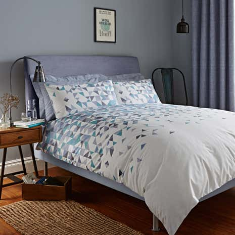 Elements Riley Duvet Cover and Pillowcase Set